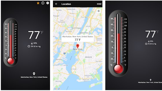 Thermometer App For Android