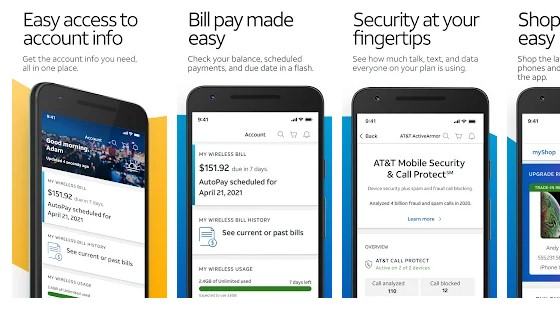 Myat&t app for Android